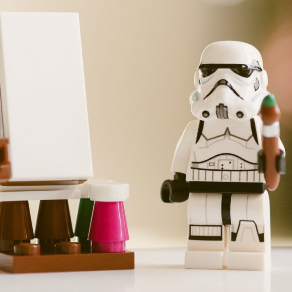 Stormtrooper with an employee engagement idea