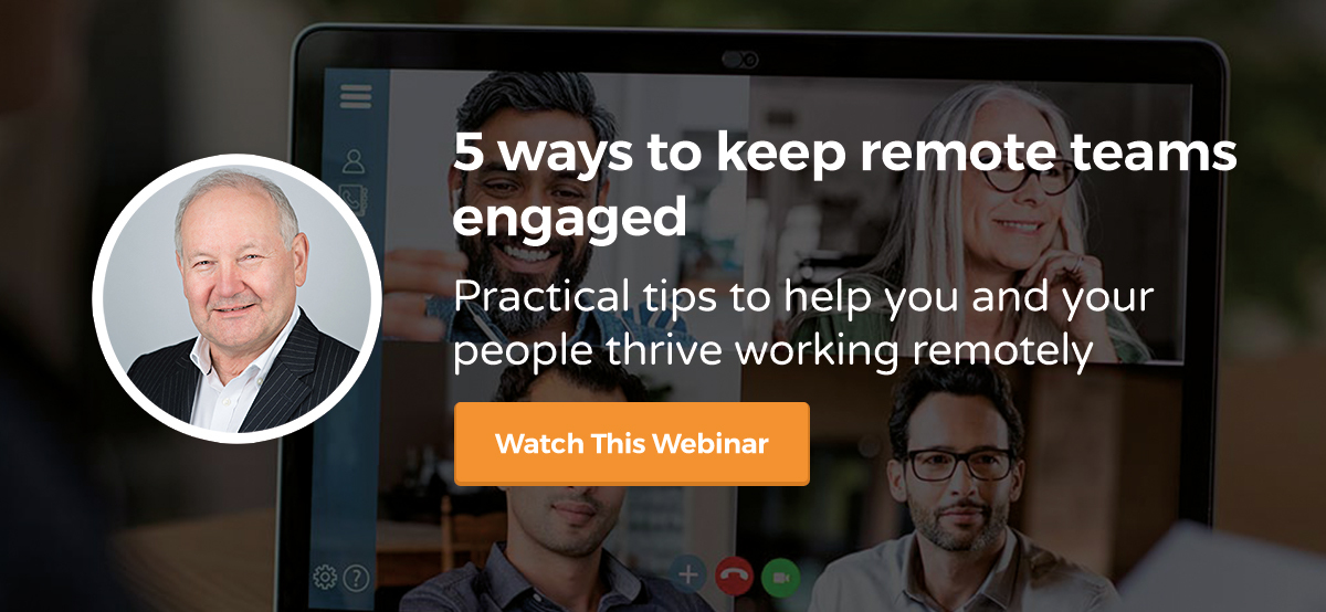Webinar: 5 ways to keep remote teams engaged